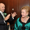 NYPD Commissioner Ray Kelly and 2010 Grand Marshal with 2011 Grand Marshal Mary Higgins Clark.<br /> © Copyright James Higgins 2011, one time use only,
