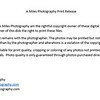 A Miles Photography Print Release