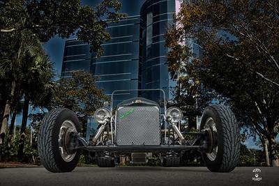 1923FordTbucketBlackFrontLowGlassBldgDC