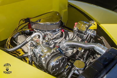 1941FordCoupeyellowEngine
