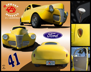16x20TrunkDisplay1941FordCoupeYellowSteven