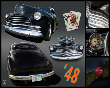 16x20TrunkDisplay1948ChevyBlackJoeMagri