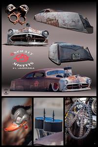 Gray Ford rat Rod