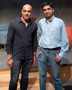 With Vinod