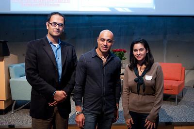 Armughan, Faran Tahir and Rabyya. Thanks Vinod for taking the photo