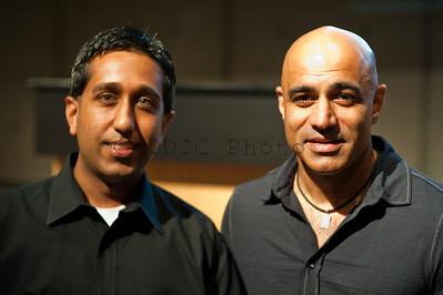 Sandeep with Faran Tahir