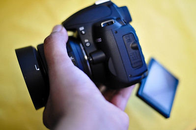Hands on with the Nikon D5000 -1