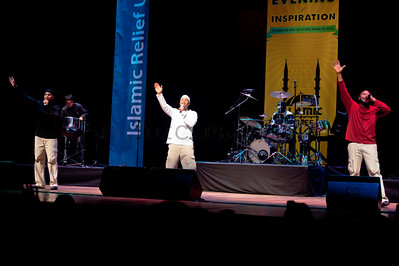"""Native Deen"" performing at a charity concert to benefit the children of the world. More info at: http://www.eveningofinspiration.org"