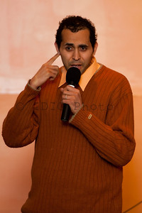 "The Hanitizer performing at ""Turn the TIde"" - a comedy show to benefit the 2010 flood victims in Pakistan."