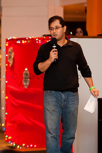 Asghar Hussain, one of the organizers