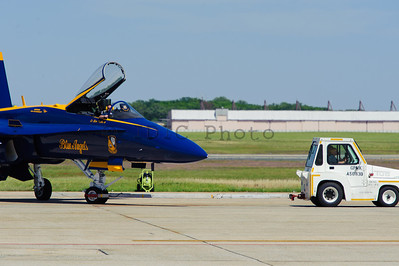 #6 Blue Angel developed and issue was was towed away