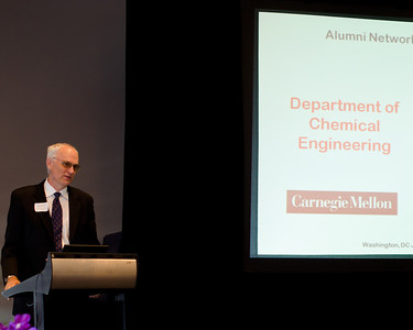 Head of Chemical Engineering Department Paul J. Sides presenting updates.CMU SCS / ECE Alumni Networking Luncheon - July 16, 2011