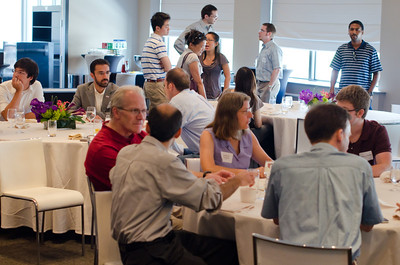 Alumni networking. Technology in our lives.  CMU SCS / ECE Alumni Networking Luncheon - July 16, 2011