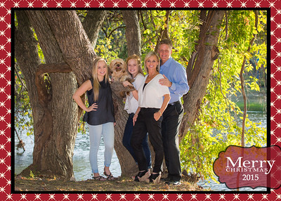 Engstrom Christmas Card Front