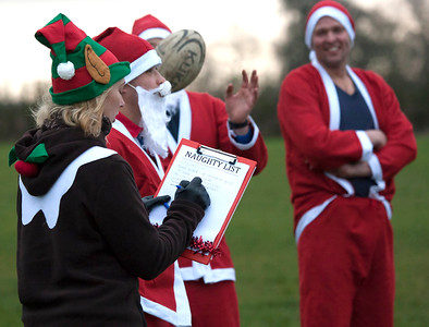 Stoke Rugby Club - Santa Rugby