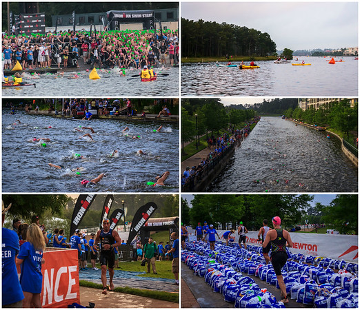 The Woodlands Ironman Swimming