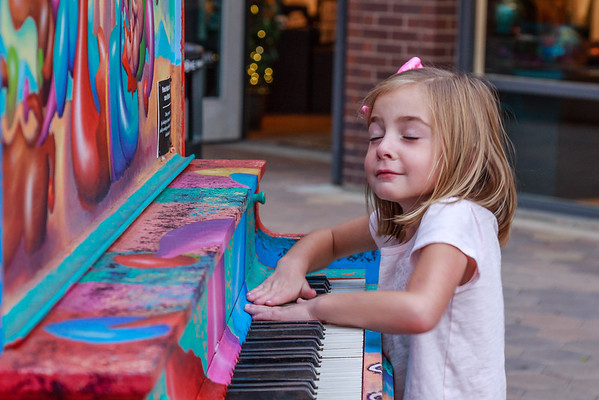 Fort Collins Old Town...Just Enjoying The Old Piano