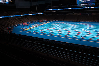 The 2016 Olympic Trials for swimming takes place in Omaha, Nebraska, on Friday, June 24, 2016.