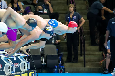 The 2016 Olympic Trials for swimming take place in Omaha, Nebraska, on Saturday,June 26 - July 3, 2016. Photo:  Bold Action Media