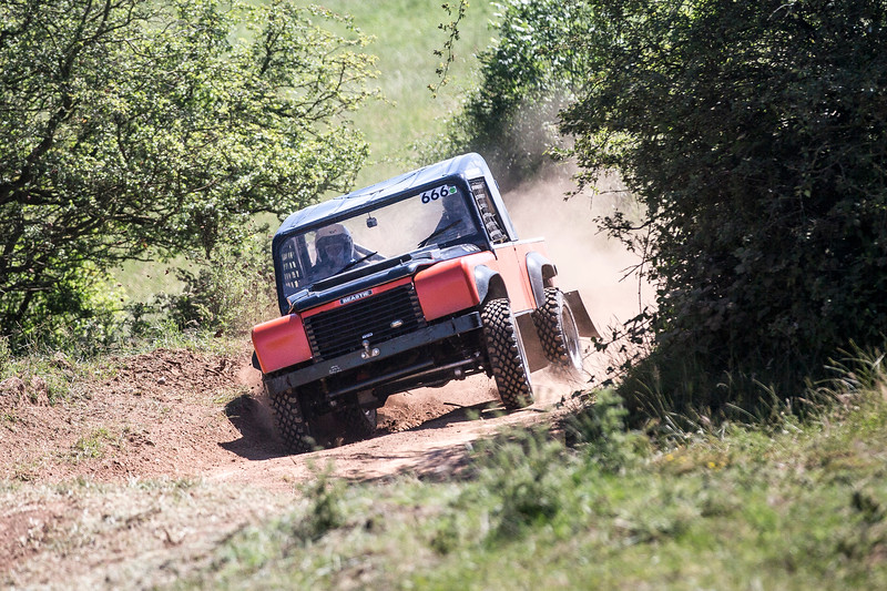 Staffordshire/Shropshire Landrover Race