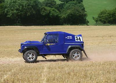 Staffordshire/Shropshire Landrover Race