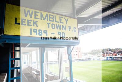 Leek Town v Basford United FC- Evo-Stik NPL