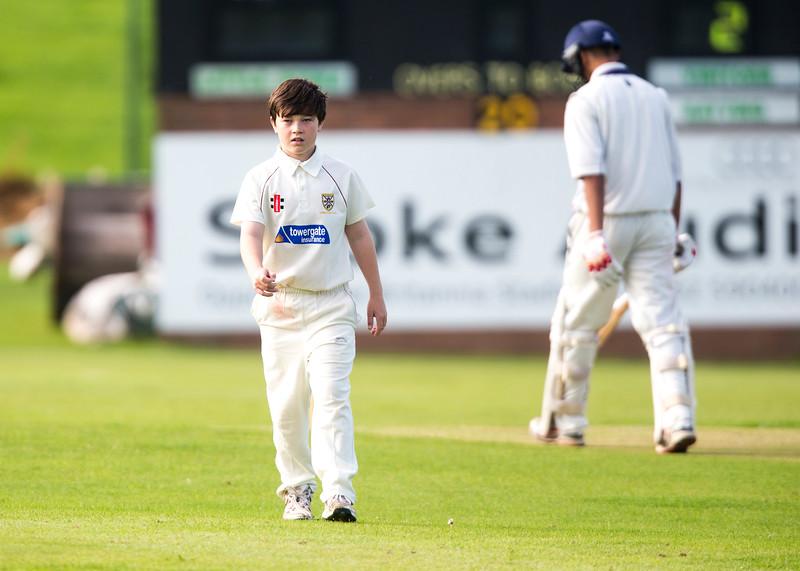 Moddershall U17s v Stone (Noel Banks Memorial Trophy Final) held at Little Stoke CC