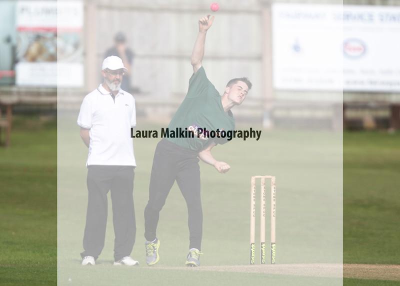 Moddershall U17s v Stone (Noel Banks Memorial Trophy Final) held at Stone CCC