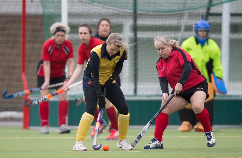 Stafford 4s Ladies v Lichfield at Beaconside (Hockey League Game)