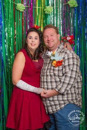 Rainbow Bingo Prom Night