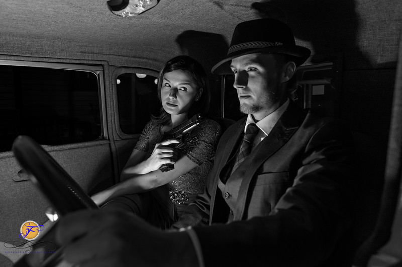 2018 Film Noir-Jessica Caleb in Car-B&W-164.jpg