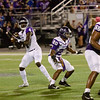 Lufkin QB Kewone Thomas drops back to pass in the 35-3 win over College Station