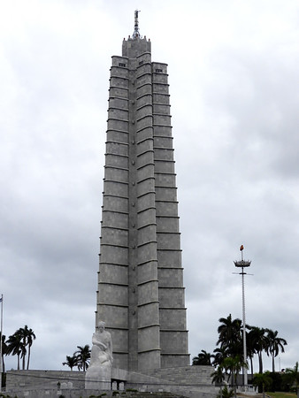 Plaza de Revolucion - Jose Marti Memorial
