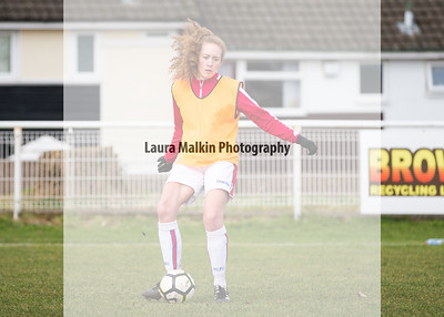 Stoke City Ladies Reserves v Derby County Ladies. FA WPL Reserve Cup