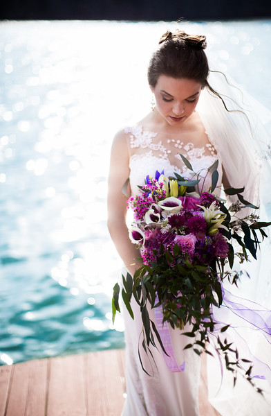 Makenzie, bride by Everbright Photography at Gallaher Bend