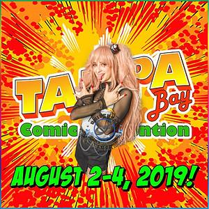 2019 Tampa Comic Con Banner -Girl