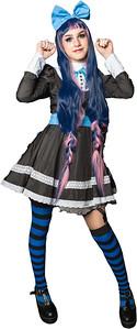Blue Hair Girl-cutout