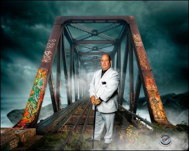 Bald Guy-16x20 Storm Tracks