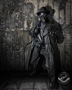 Black Leather Guy-Grunge-16x20-C