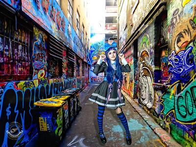 Blue Haired Girl-hosierlane-2321583