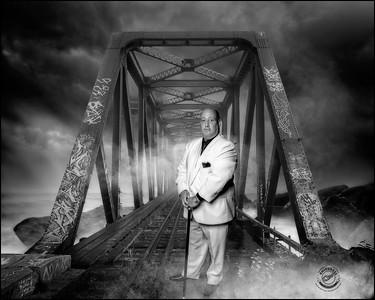 Bald Guy-B&W-16x20 Storm Tracks