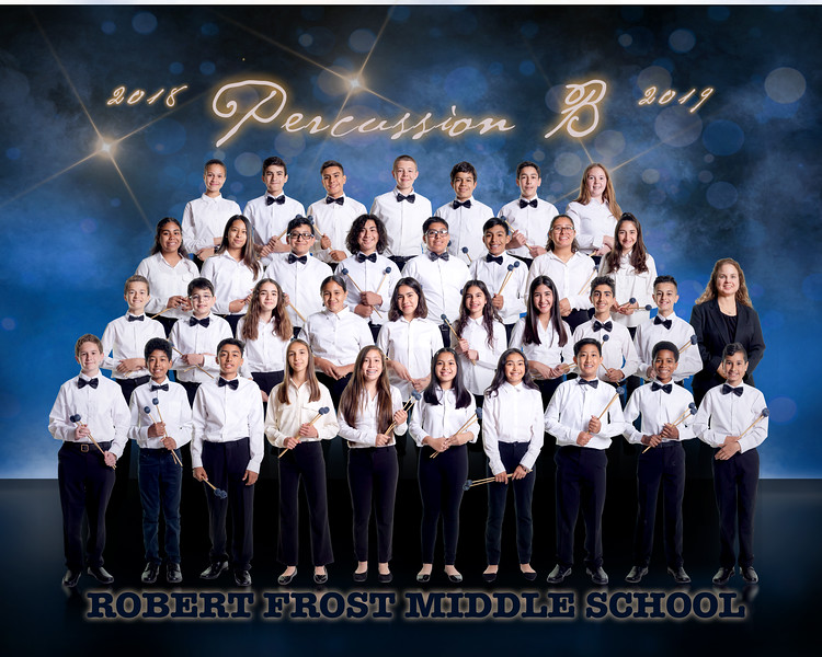 Robert Frost Middle School - Percussion B