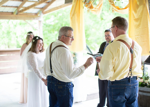 Wedding Ceremony, Wedding at Nolichucky Vineyard by Everbright Photography
