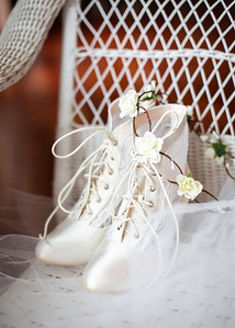 Victorian Boots - Wedding at Nolichucky Vineyard by Everbright Photography