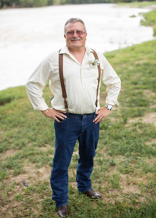 Groom Portrait at Wedding at Nolichucky Vineyard by Everbright Photography