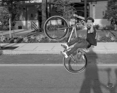 Cyclists & Night Shots-B&W-51