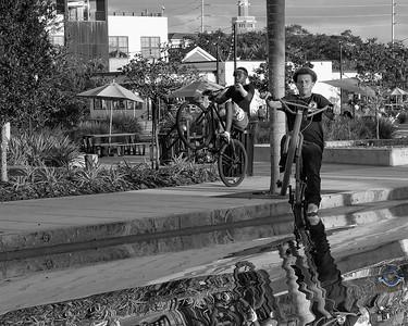 Cyclists & Night Shots-V2-B&W-70