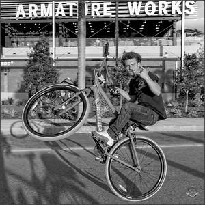 Cyclists & Night Shots-B&W-80 SQUARE