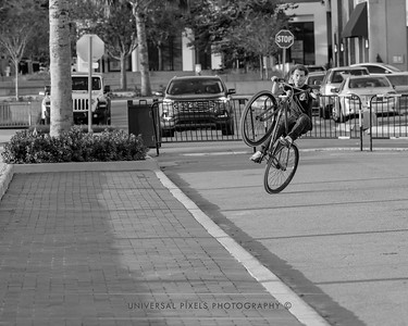Cyclists & Night Shots-B&W-8
