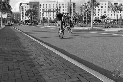 Cyclists & Night Shots-B&W-60